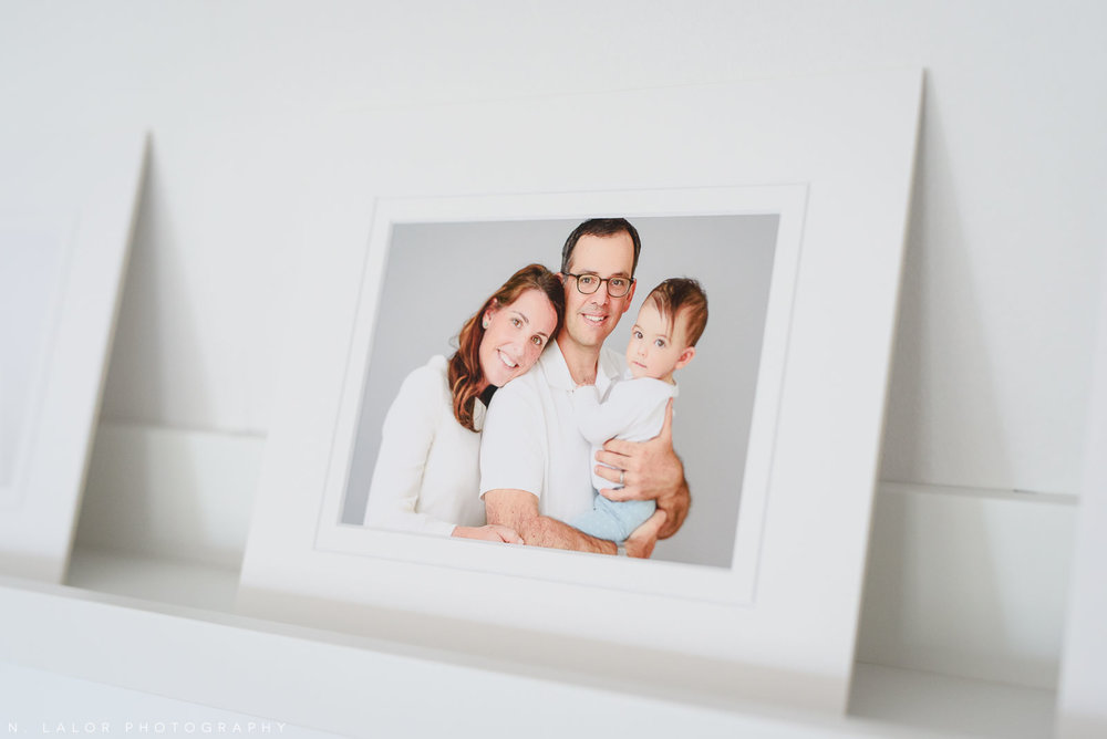 Family portrait. Fine art print by N. Lalor Photography. Greenwich, CT.