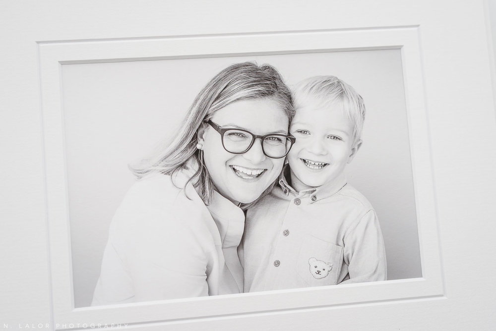 Mom and son. Family portrait session with N. Lalor Photography in Greenwich, Connecticut.