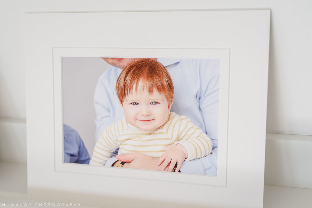 Fine art print of Clara. Family portrait session with N. Lalor Photography in Greenwich, Connecticut.