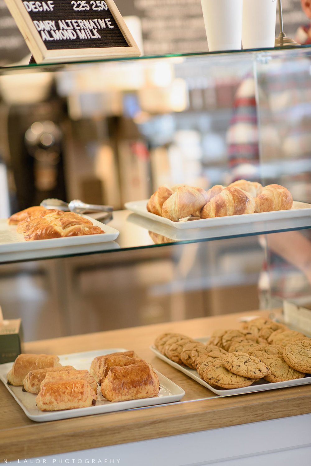 Baked goods. Roost Darien, small business photos by N. Lalor Photography.