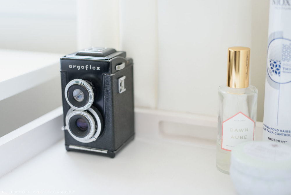 N. Lalor Photography Studio - a few of my favorite objects include a vintage duo-reflex camera.