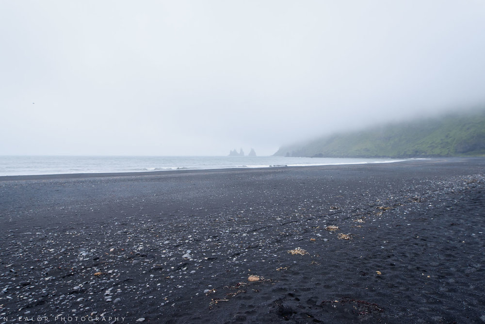 The black beach at Vik. From my trip to Iceland in 2018. Photograph by Nataliya Lalor.