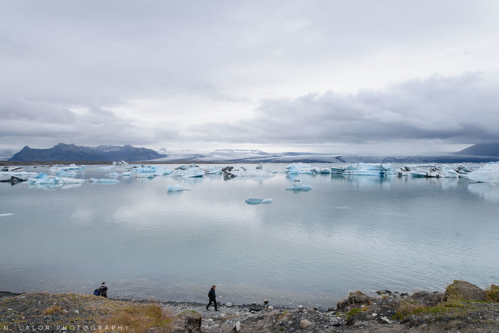 The Jökulsárlón glacial lagoon. From my trip to Iceland in 2018. Photograph by Nataliya Lalor.