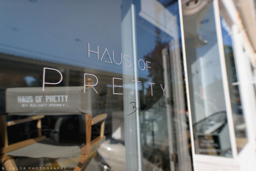 Haus of Pretty exterior, 24 Railroad Place, Westport CT. Photo by N. Lalor Photography.