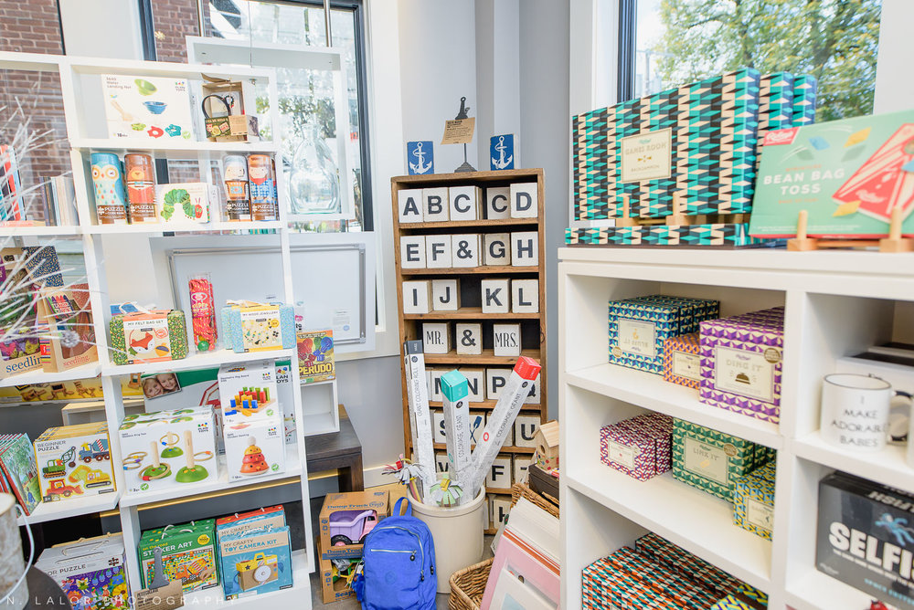 Back 40 Mercantile games and toys, in Old Greenwich, Connecticut. Image by N. Lalor Photography.
