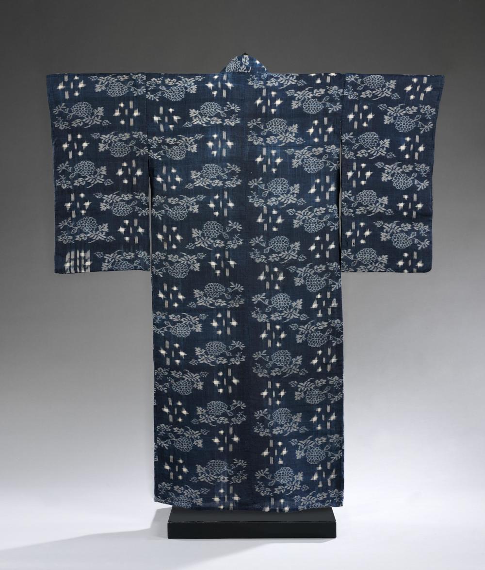 Niigata, Japan -1850-1900 - hemp, dyed and printed.