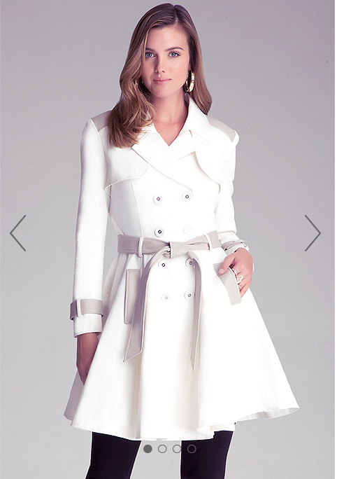 bebe trench