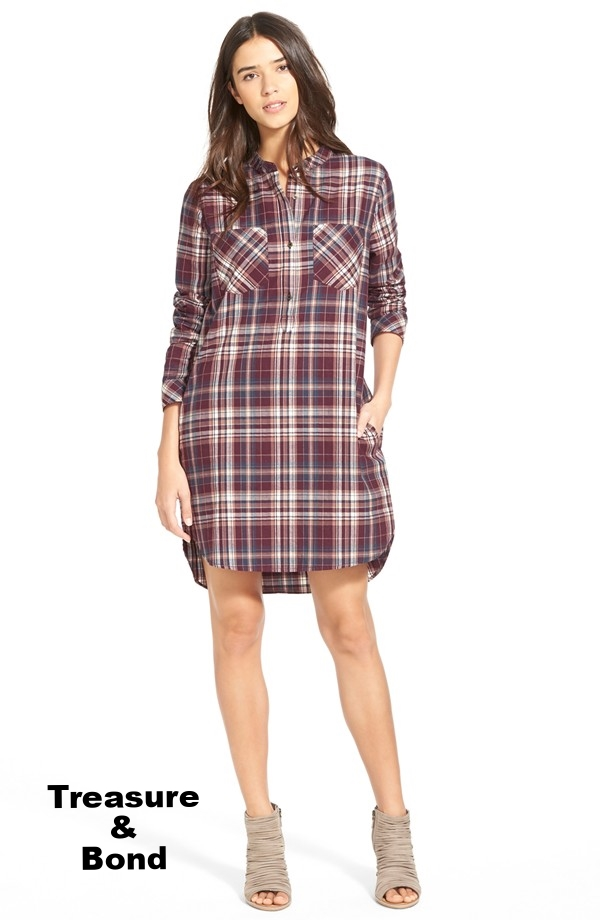 treasuue and bond flannel shirt dress.jpg