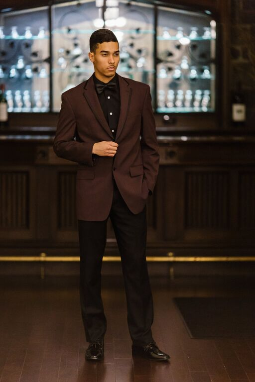 Fashion Details:   Tuxedo Jacket:  Sean John (similar)