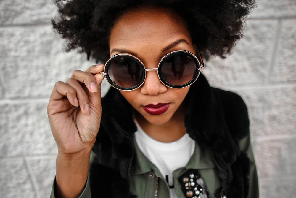 FASHION DETAILS:   Sunglasses:  (similar)