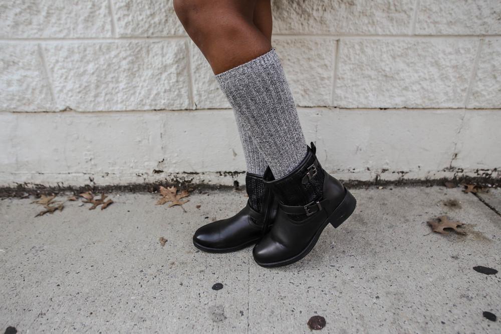 FASHION DETAILS: Boots: (similar)