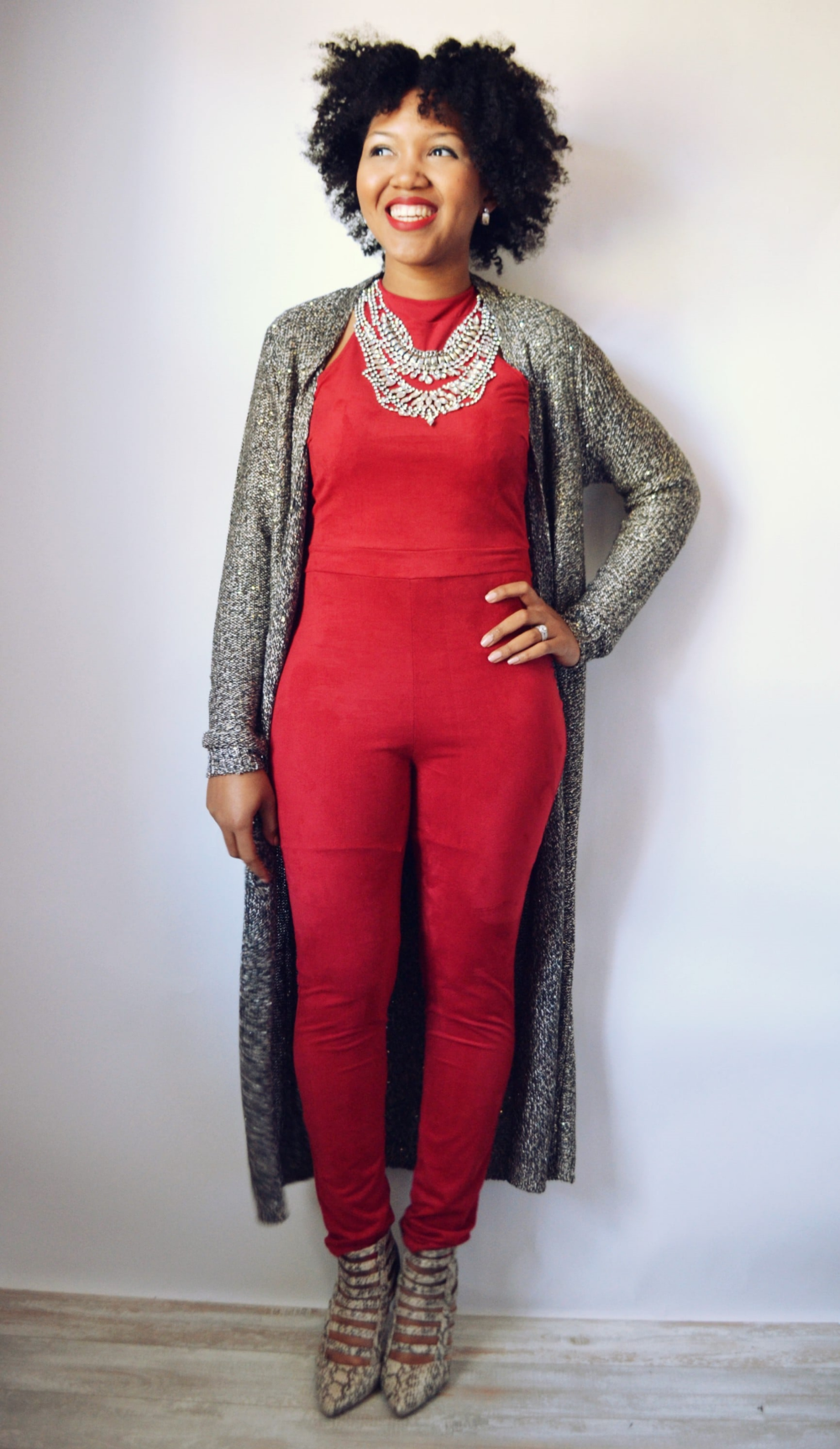 Valentine's Day Inspiration - Red Jumpsuit — LuxeLeBlanc