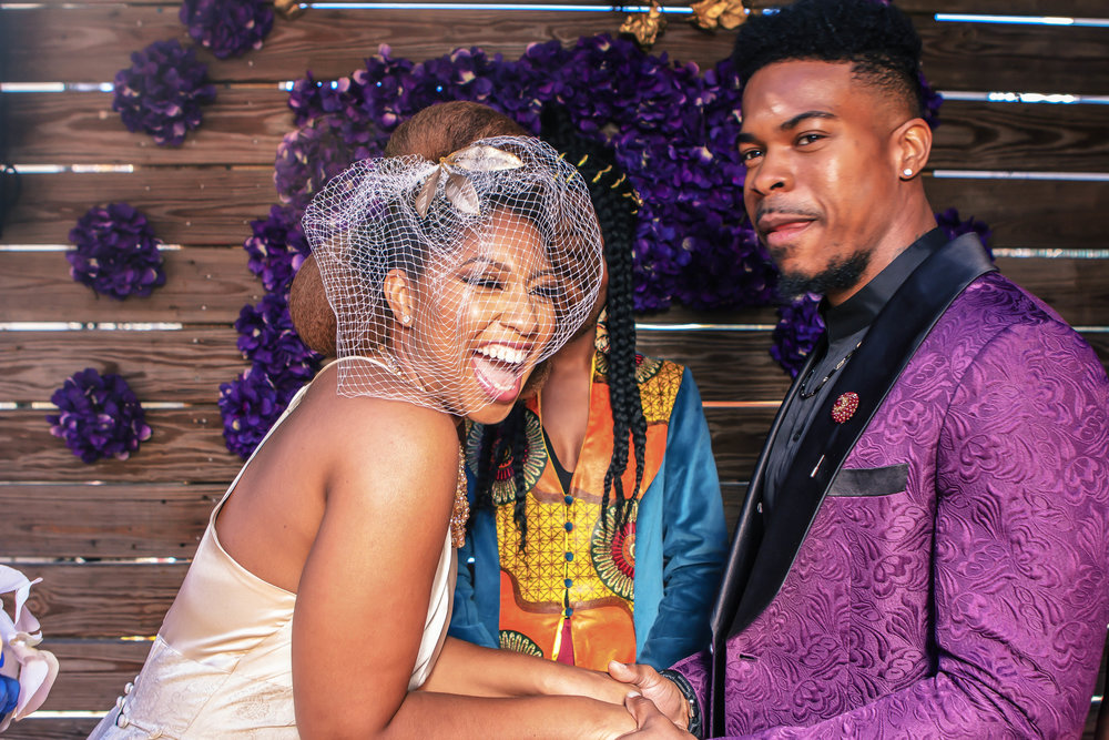 Luxe LeBlanc_Wakandan Wedding_Bride and Groom2.jpg