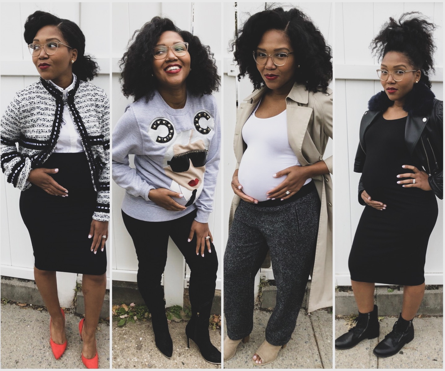 4 Maternity Wardrobe Essentials Look Book Featuring Storq The Wardrobe Therapist Luxe Leblanc Styling Co