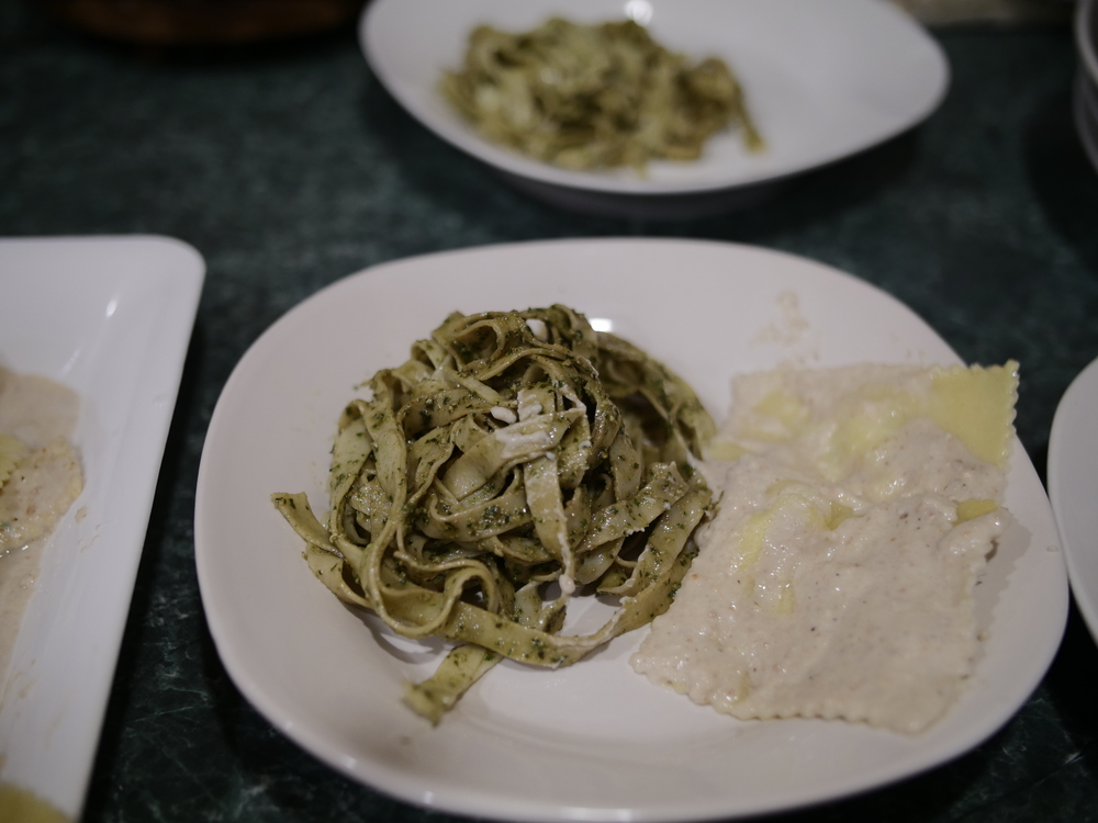 Traditional Basil Pesto & White Walnut Pesto