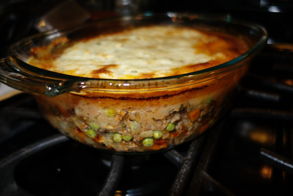 Shepard's Pie - SO good! Not a whole lot of alterations here!
