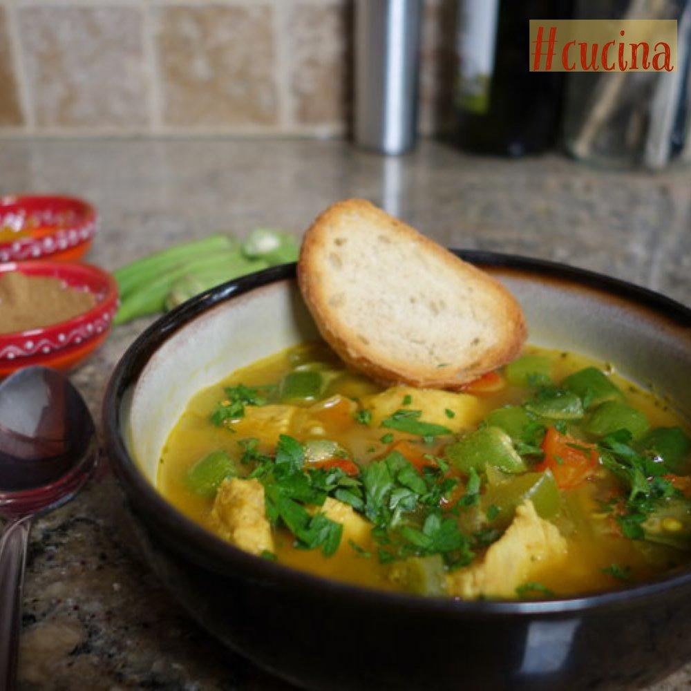 Pumpkin Chicken Soup