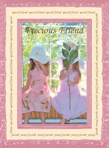 Precious Friend card
