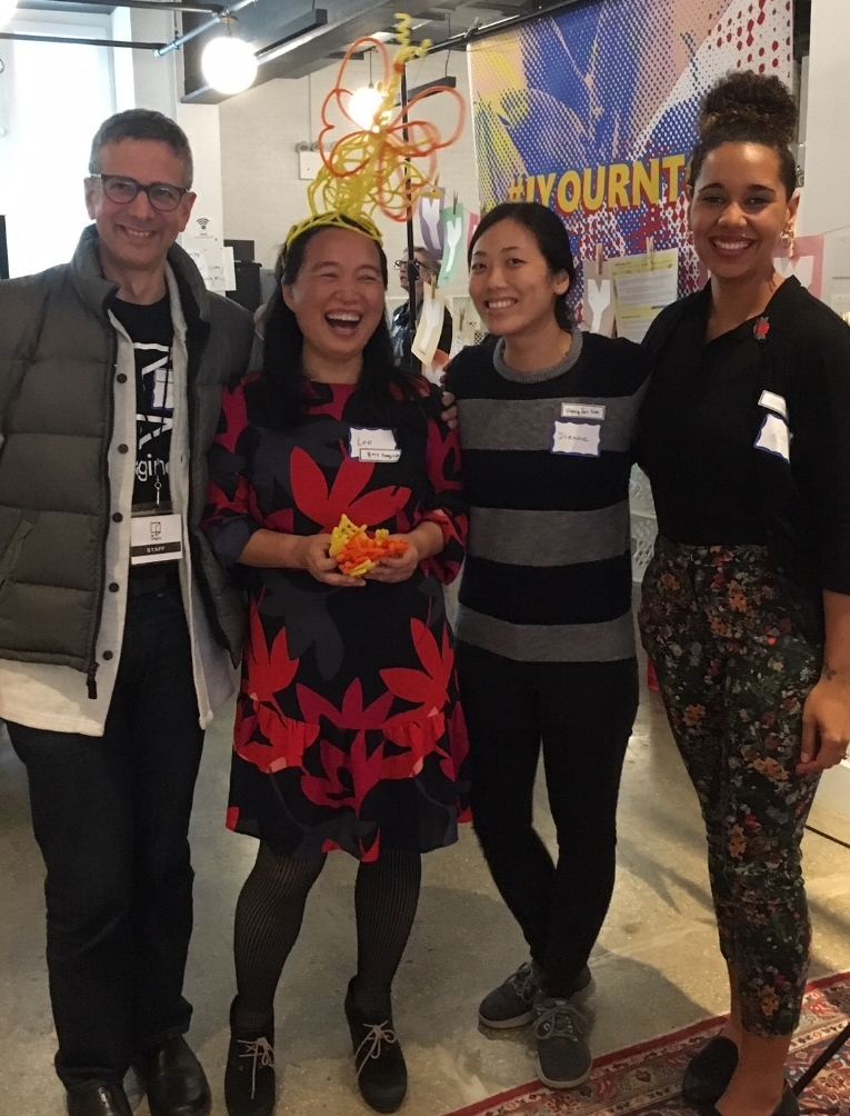 "Attending ""Before/End/After"" at Prime Produce, a Reimagine partner serving entrepreneurs, educators, and artists who share values of service and hospitality. With presenters Lee Kim and Diane Kim (Design Dream Lab) and grief expert Alica Forneret."