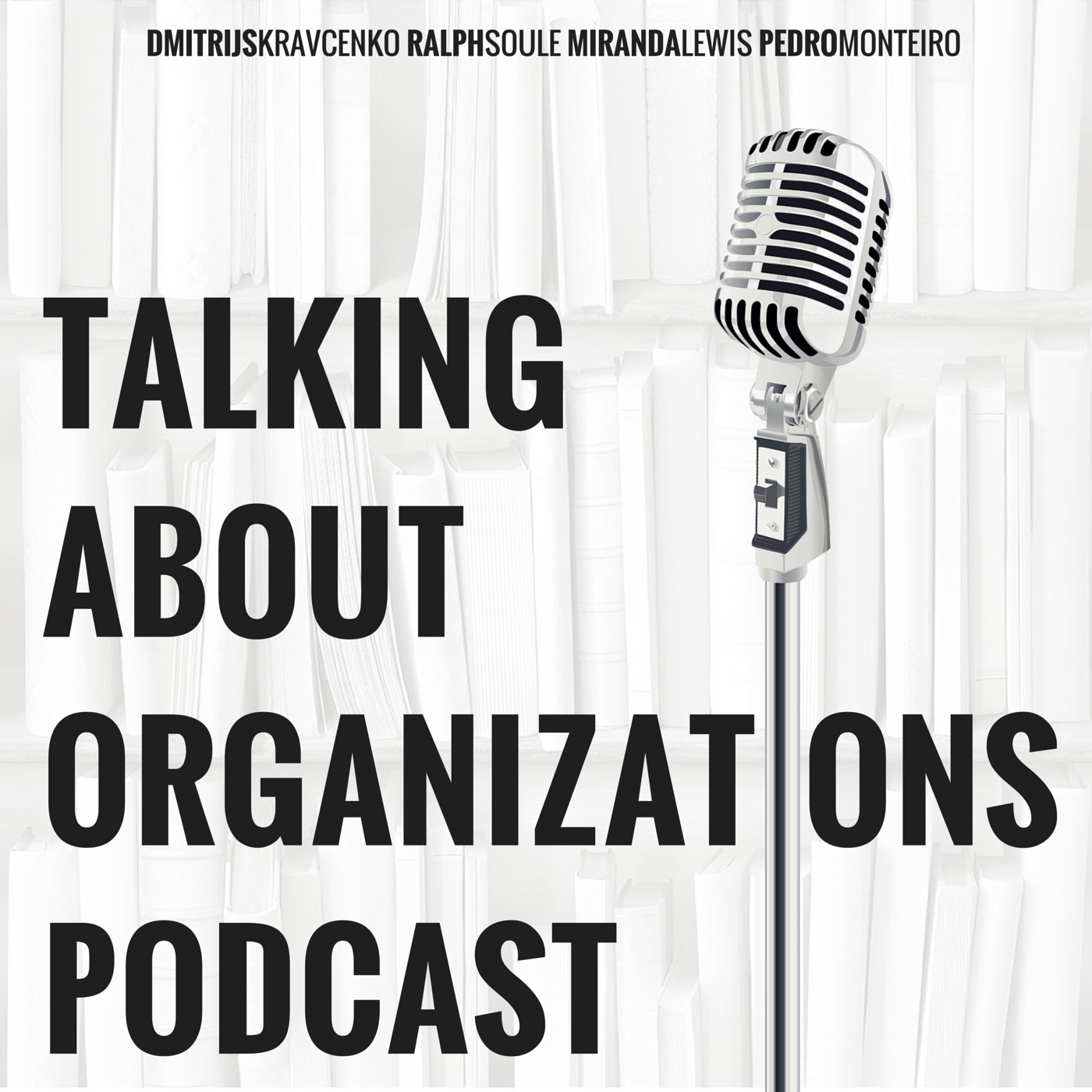 Talking About Organizations