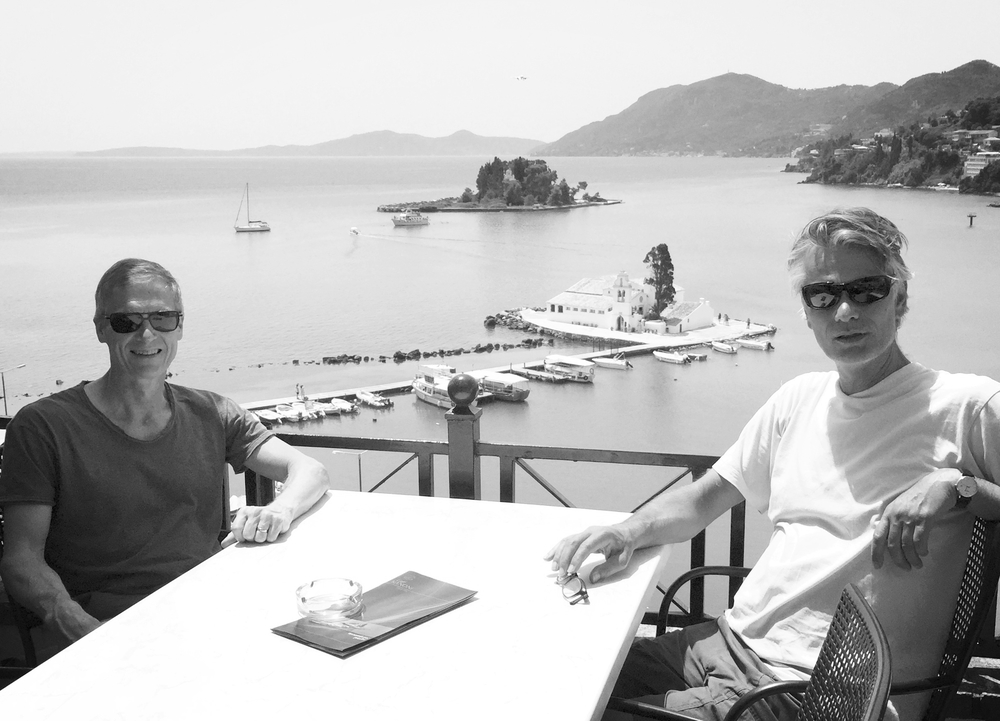 The Authors: Jorgen Sandberg and Mats Alvesson (at the PROS2016 Conference in Corfu, Greece)