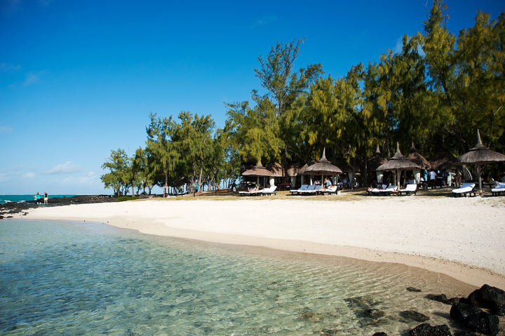 Flibustiers Beach - Golfers' Exclusive beach at Ile aux Cerfs