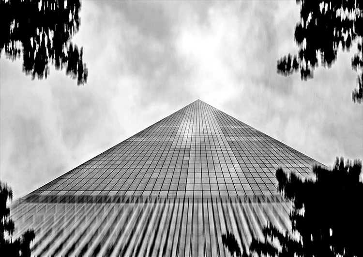 """HOPE"" Freedom Tower, New York City, 2017"