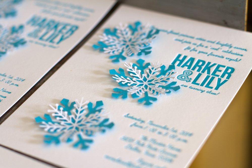 snowflake birthday invites keni candlecomfortzone com