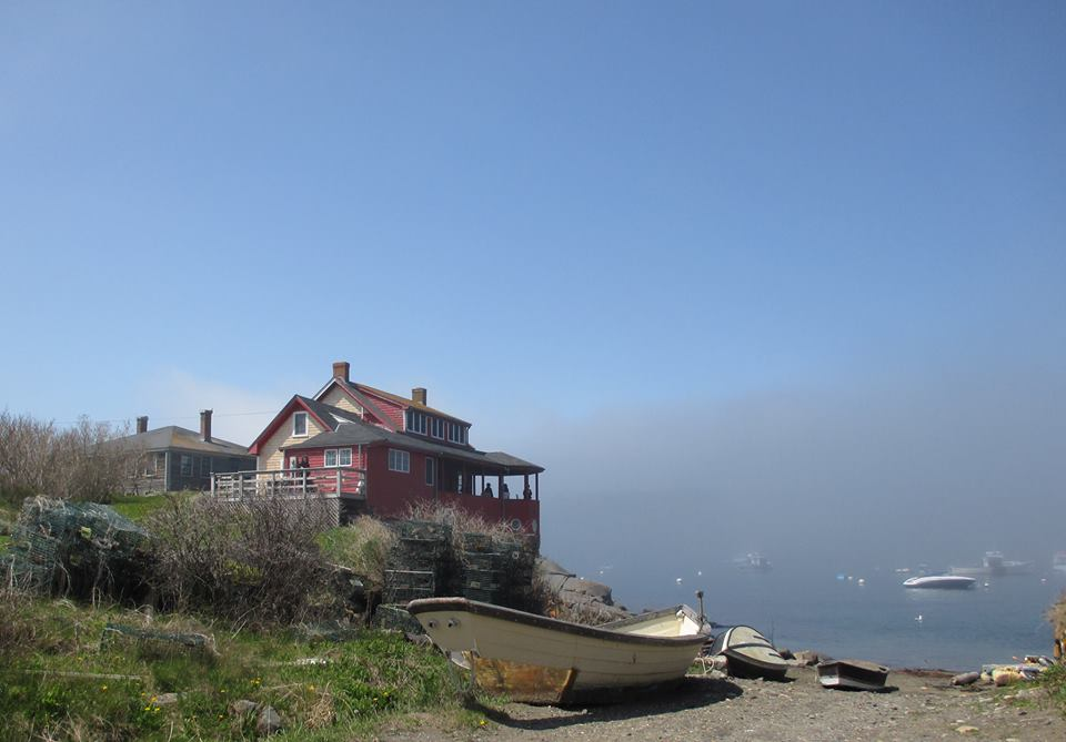 The Red House, Fog, Monhegan, ME