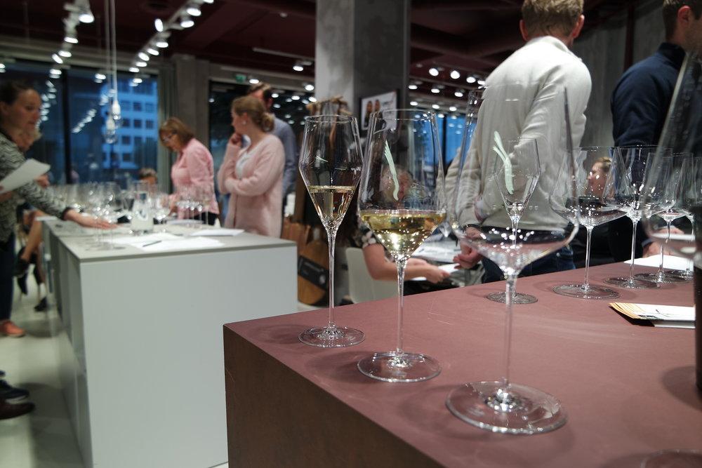 Fine wine og Zalto-smaking på Glass Thomsen
