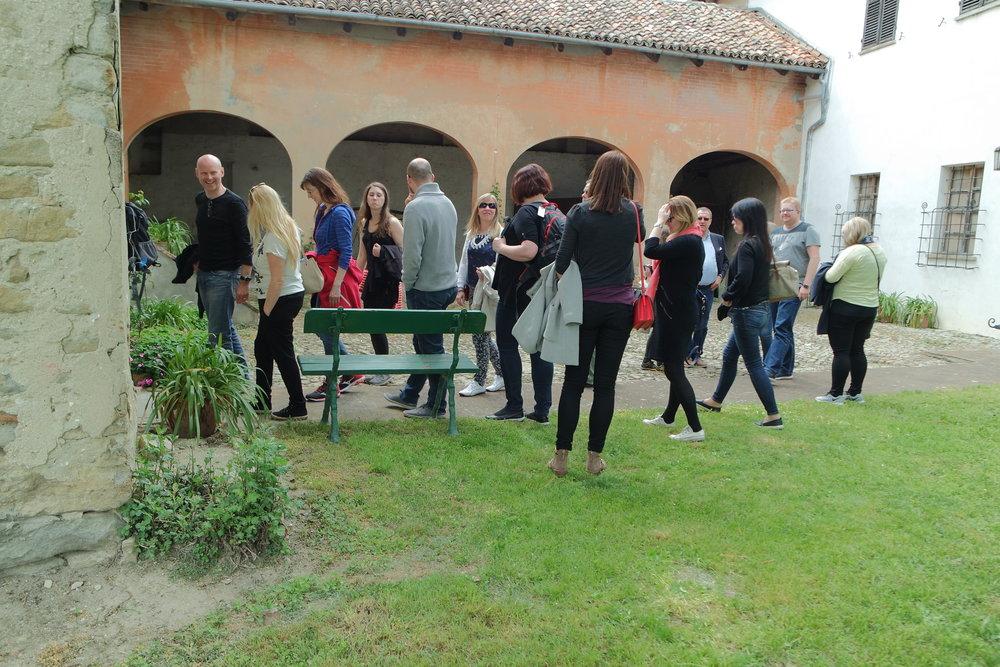 Strategisamling for 30 kolleger i Piemonte