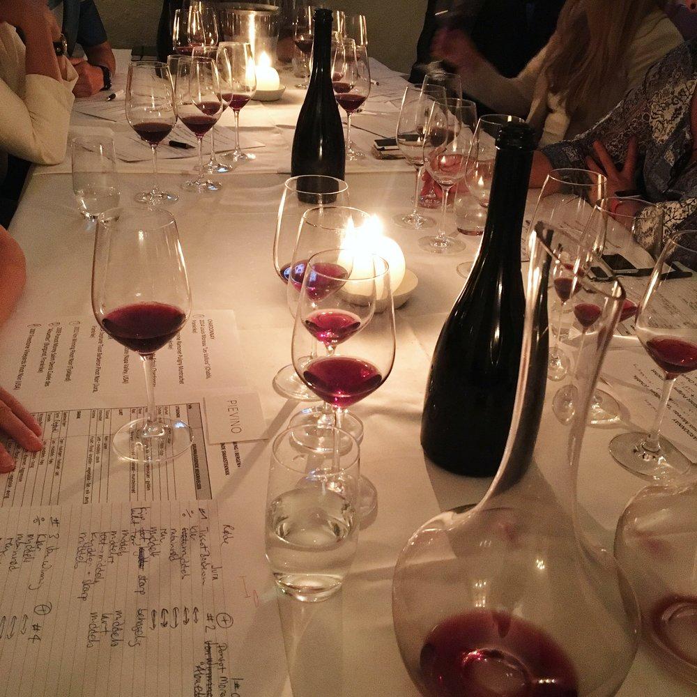Chardonnay og Pinot noir-kurs på Altona