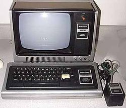 Daniel Ho First Computer - TRS-80
