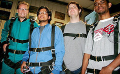 Skydiving Interns