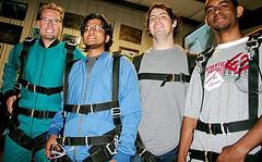 Skydiving Interns