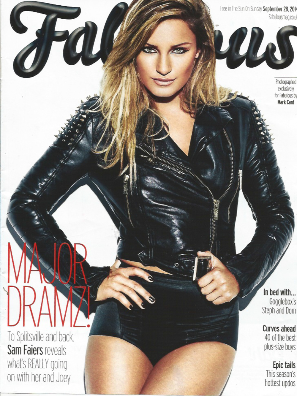 Sam Faiers, Fabulous Magazine, 29th September 2014-1.jpg