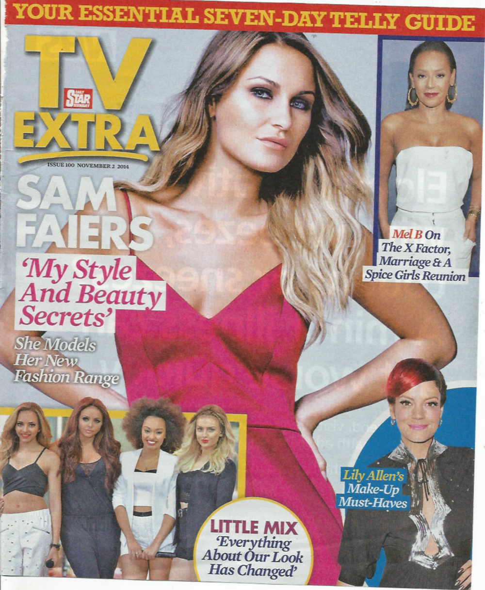 Sam Faiers, TV Extra, 3rd November 2014-1.jpg