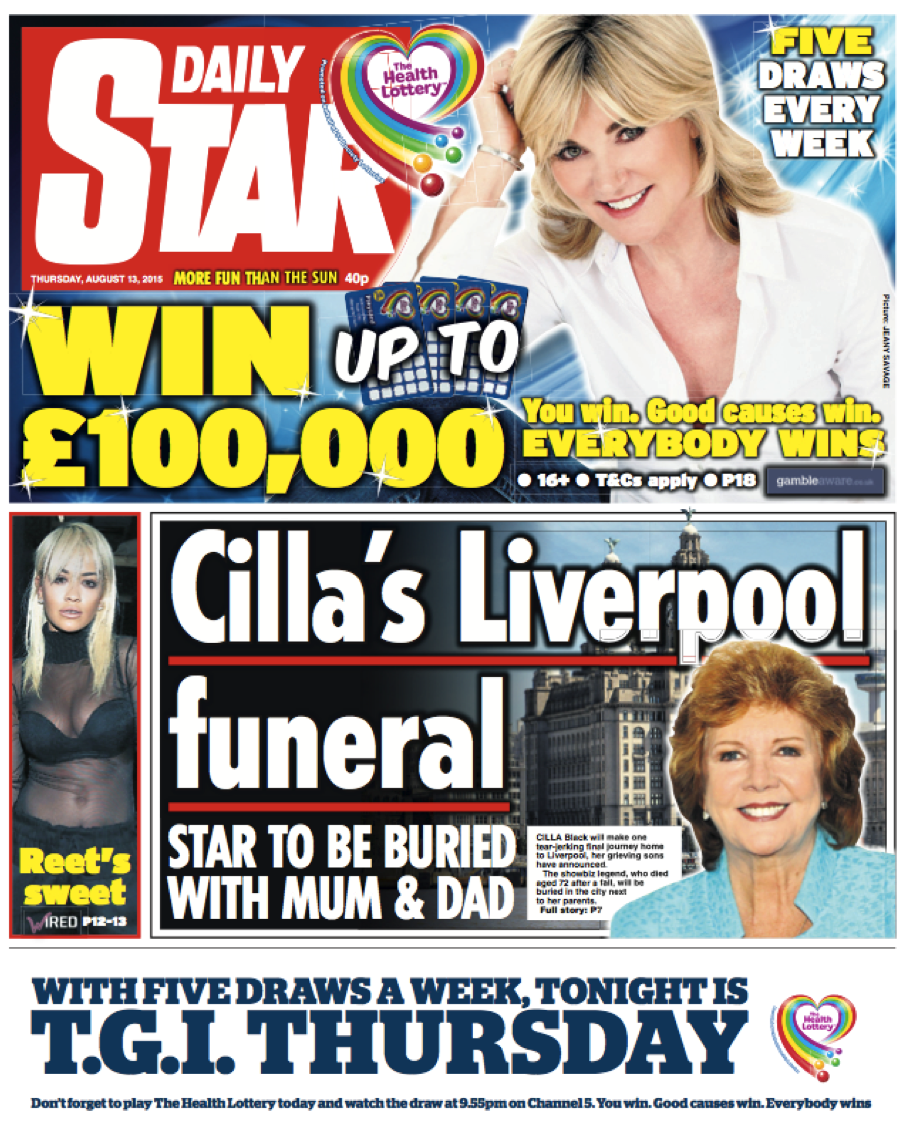 Anthea Turner, Daily Star.png