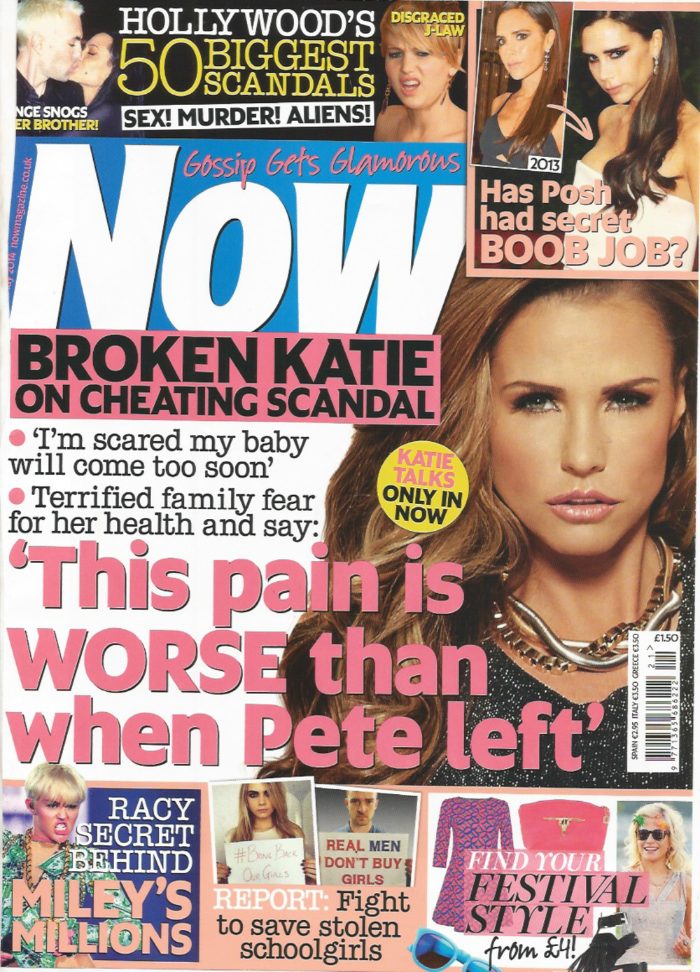 Katie Price, Now Magazine, 13th May 2014-1.jpg