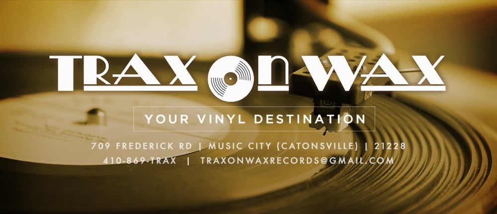 Trax On Wax Maryland Record Store Lps Turntables Buy