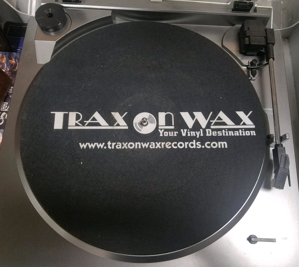 Trax on Wax Record Mats