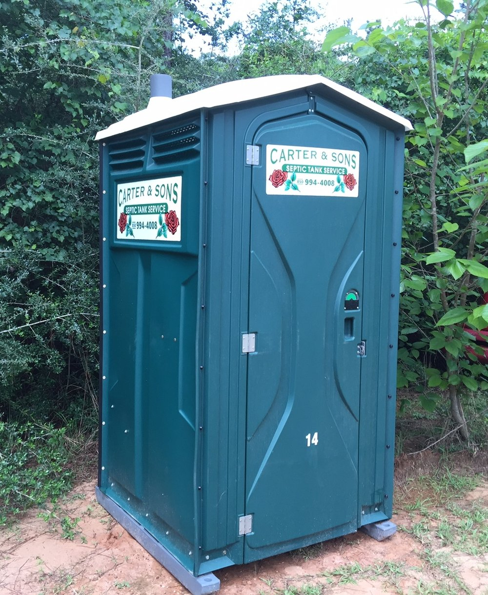 My very own portable toilet.  Yes, I'm documenting it all.  :)