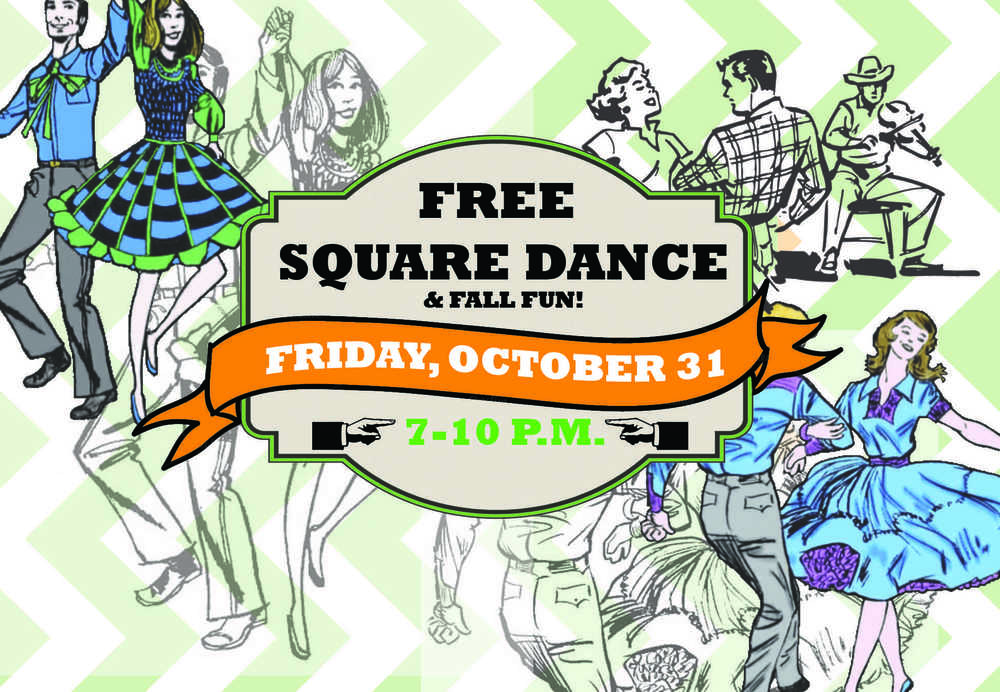 Square Dance Event Card Front