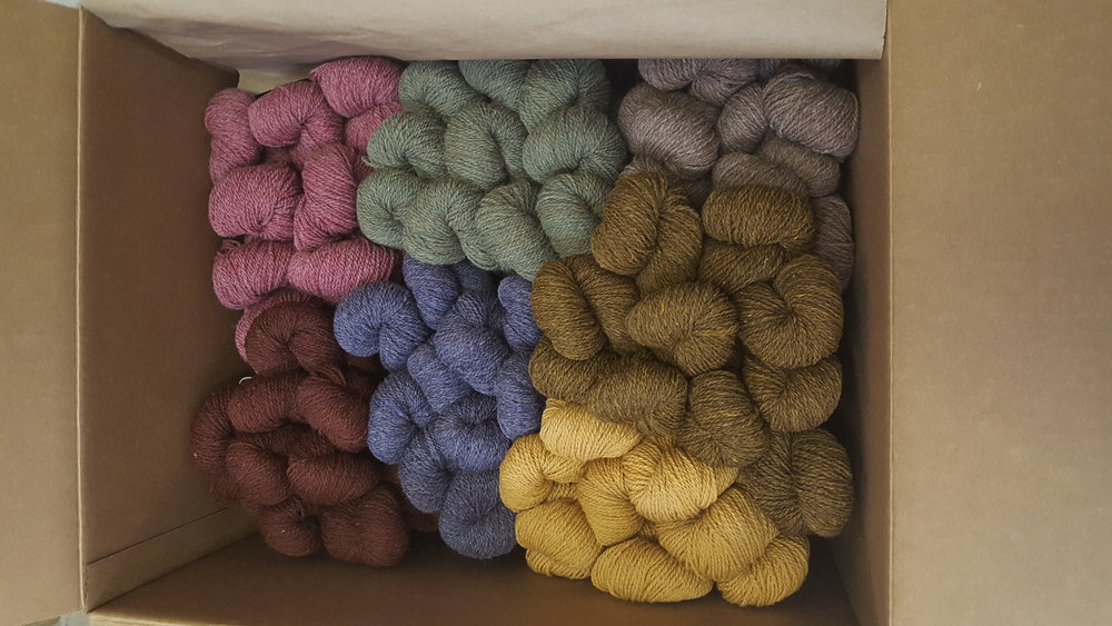 New colours in Alpaca Elegance.