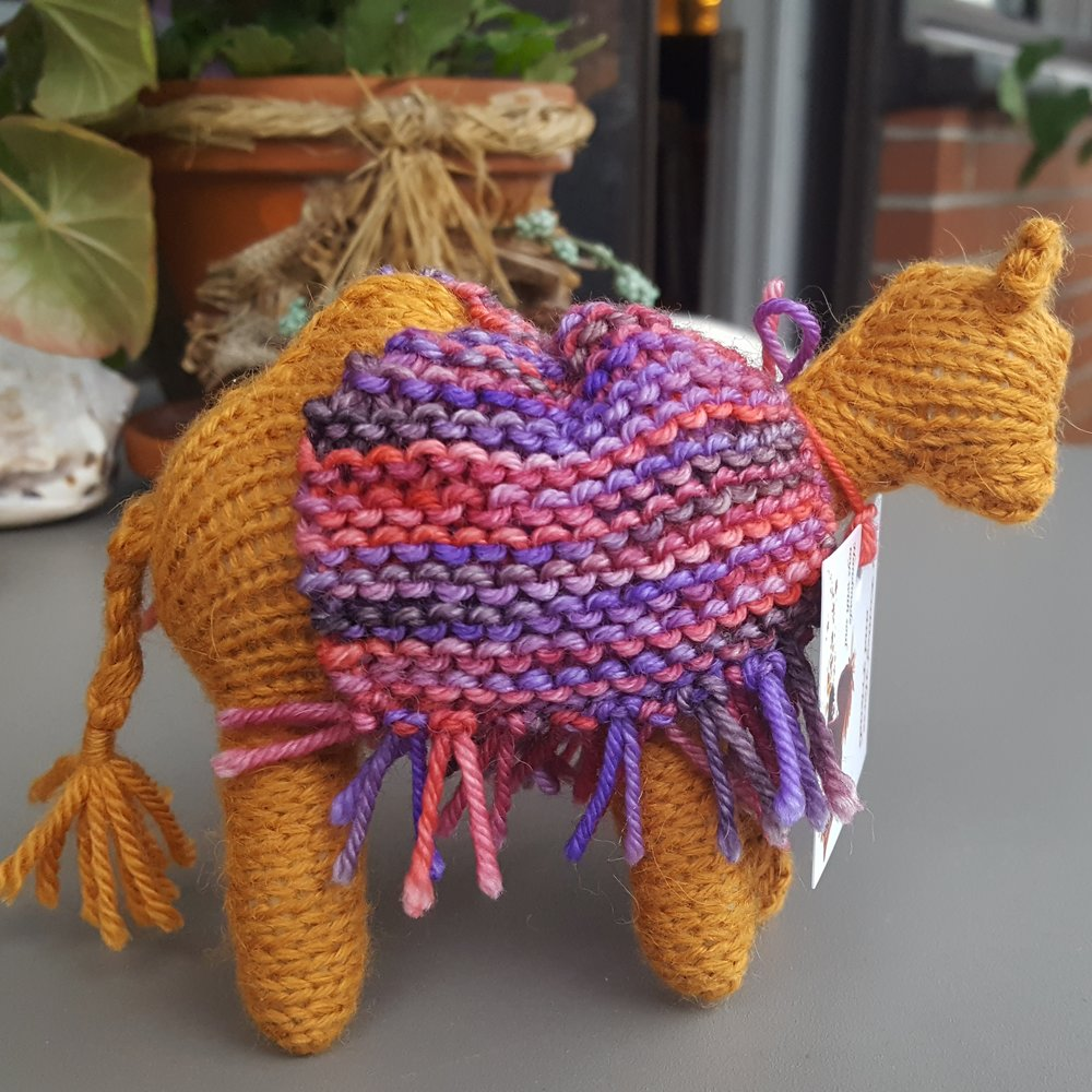 Hand made toy from My Knitted Horse on Etsy