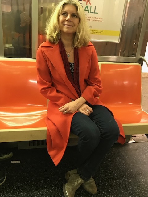 On the NYC subway