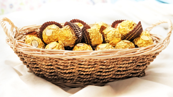 Healthy Recipe: Homemade Ferrero Rocher
