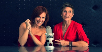 "Darlene Mew (left) and Kelly Summersett (right), hosts of ""It's a Brain Changer!"""