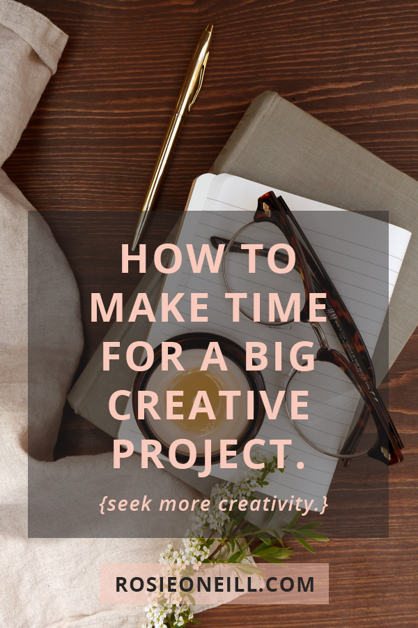 Make more time for creativity.