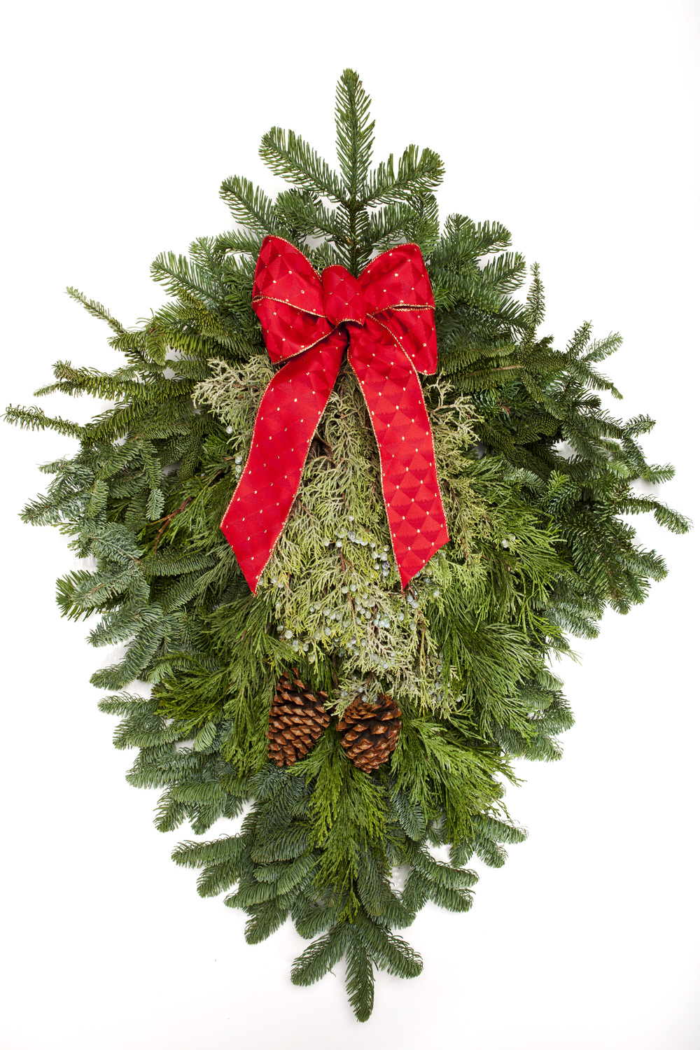 "24"" Mixed Evergreen Swag"